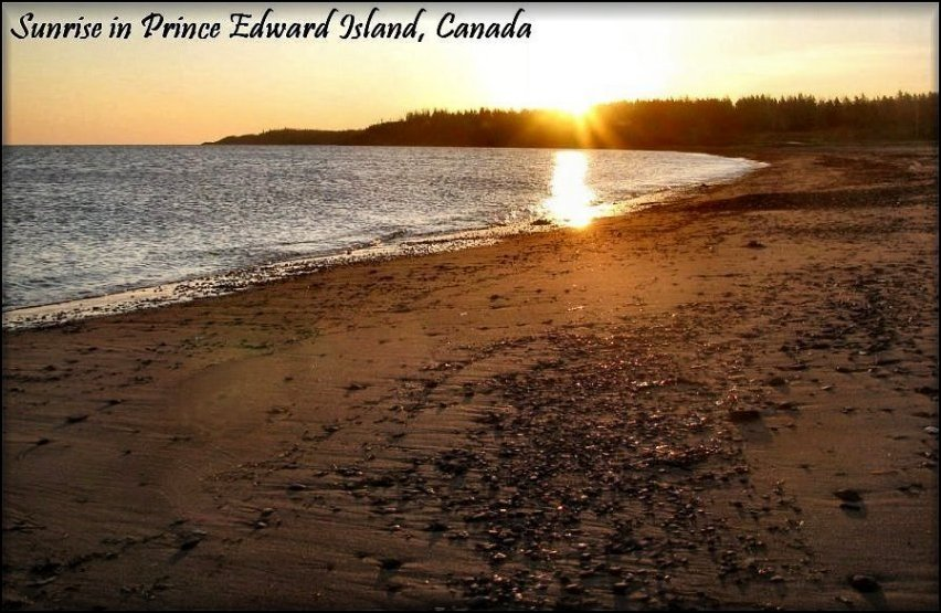 Welcome to Prince Edward Island, Canada